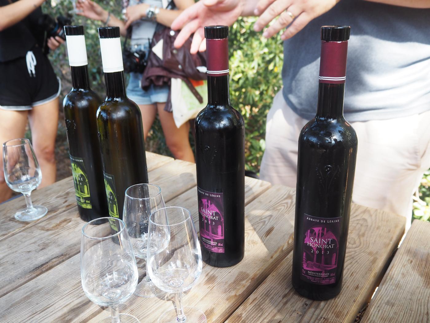 St Honorat wine