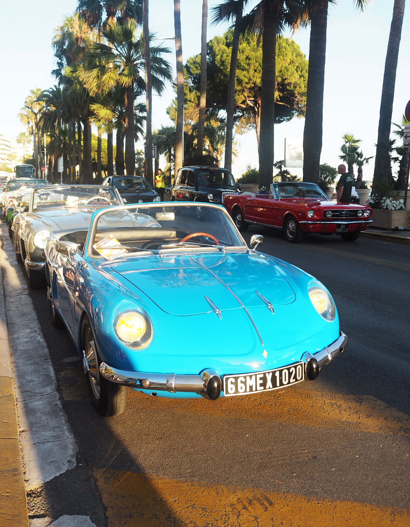 Vintage cars Cannes