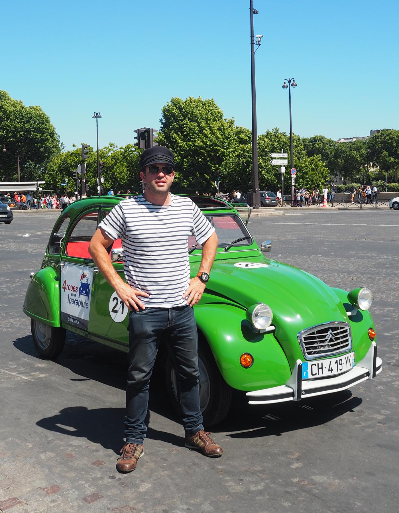 Citroen 2CV tour of Paris