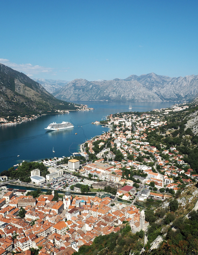 View from Kotor Fortress