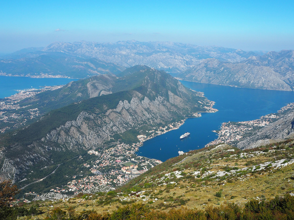 View of Montenegro from Lovcen