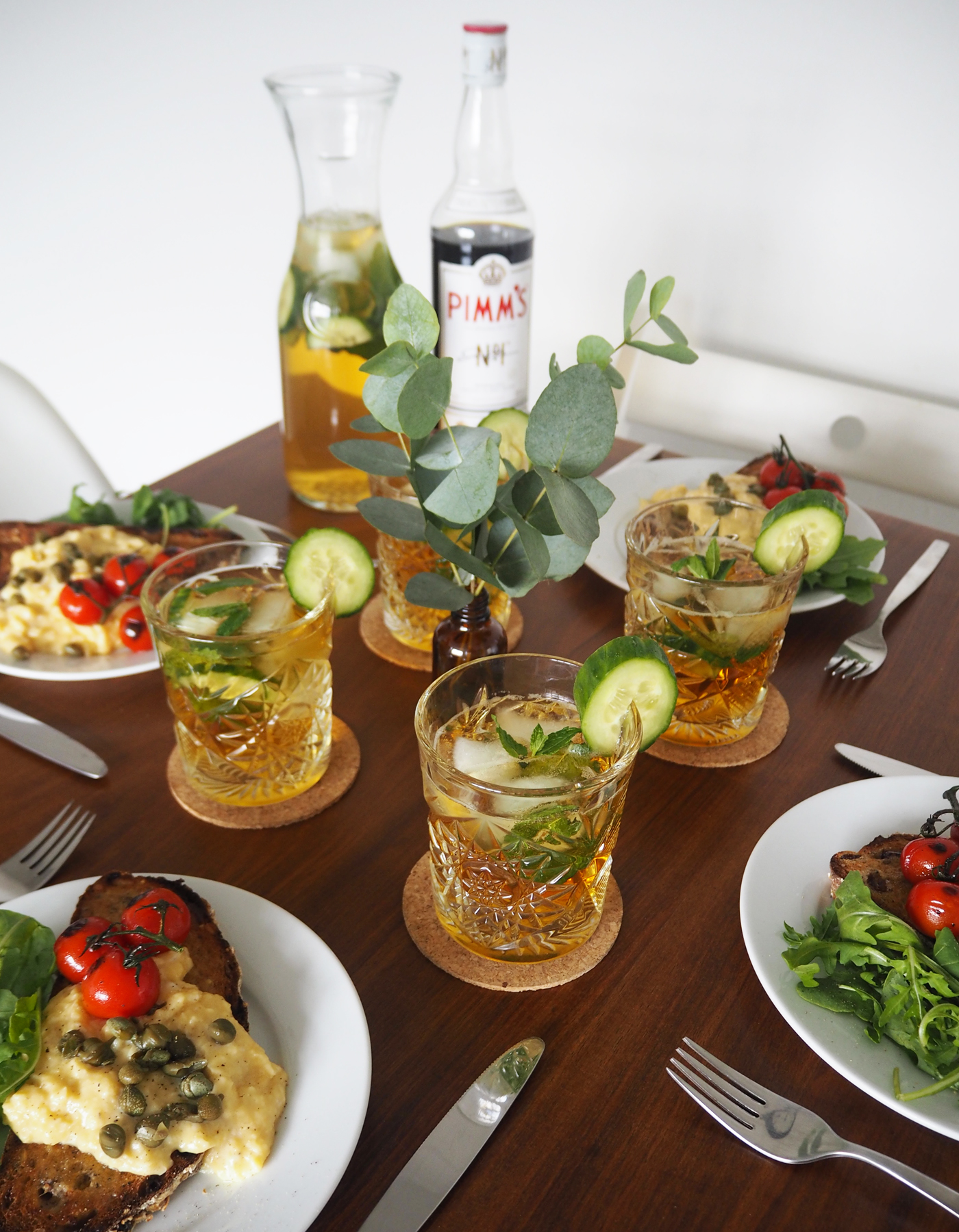 Pimm's gin and tonic recipe
