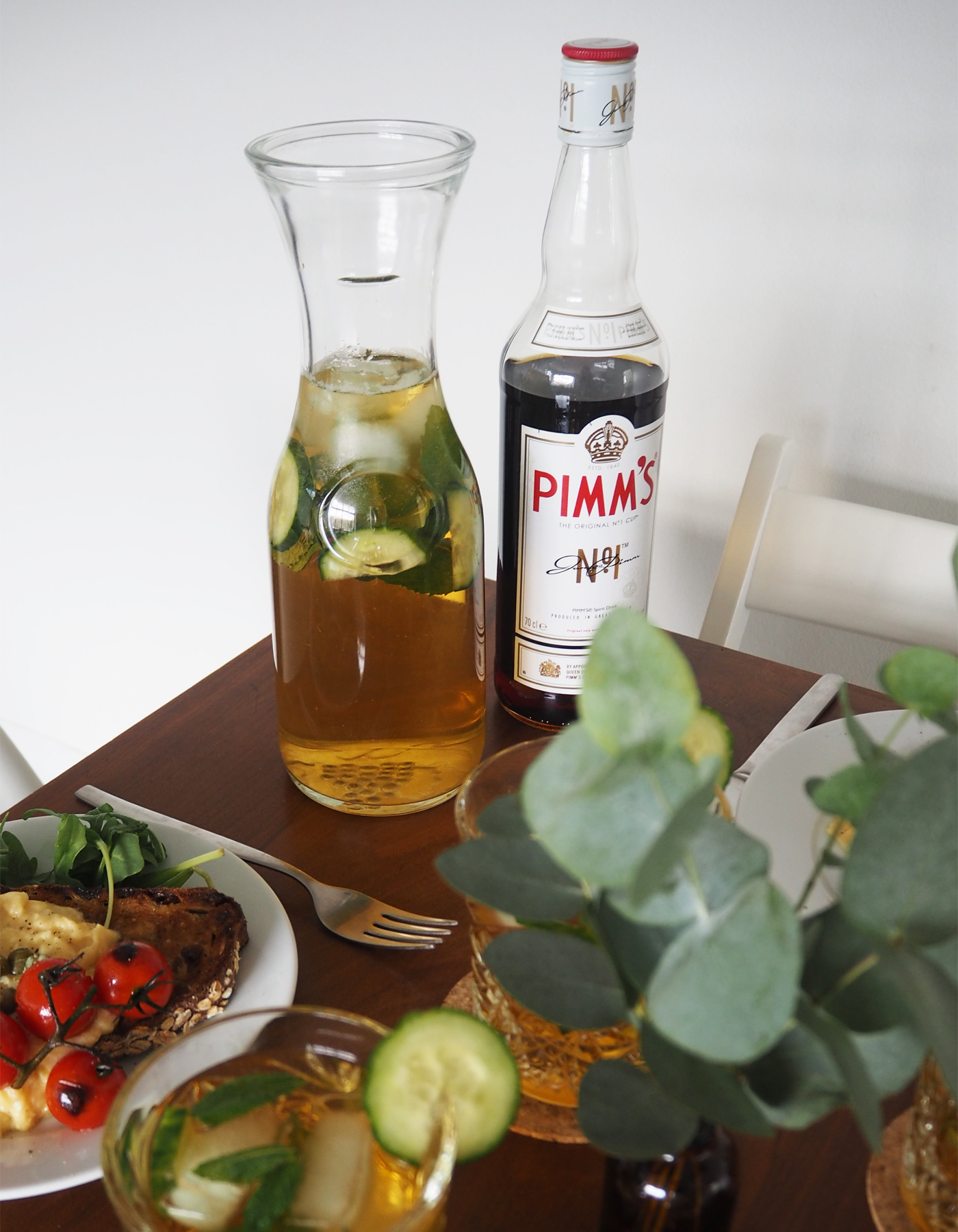 Pimm's g and t recipe