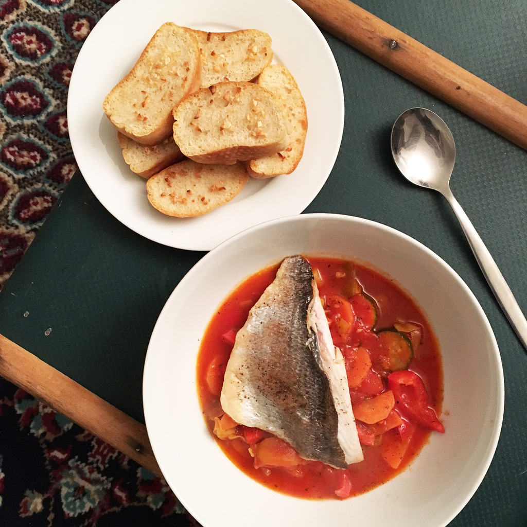 Sea Bream Stew