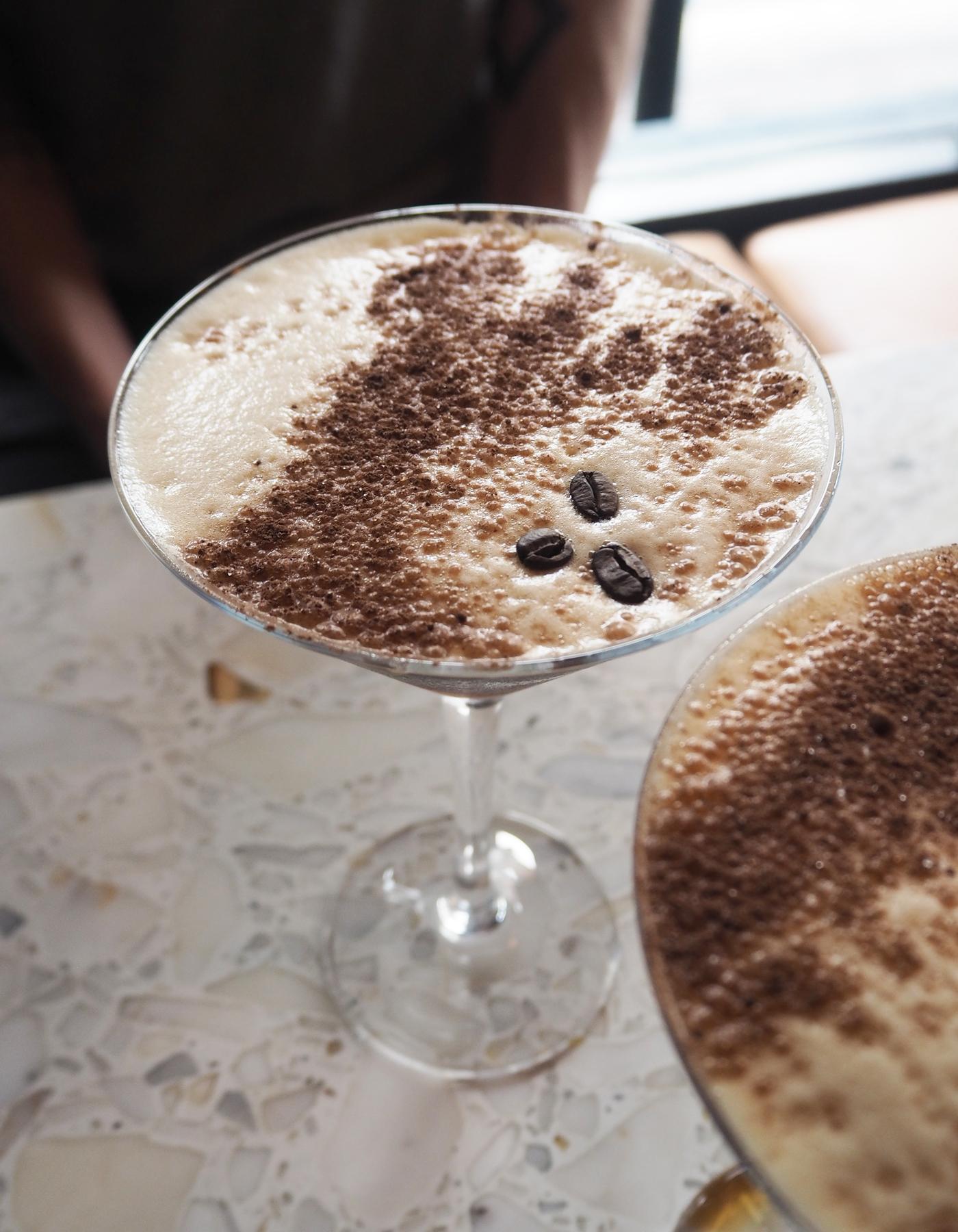 Senor Ceviche expresso martini