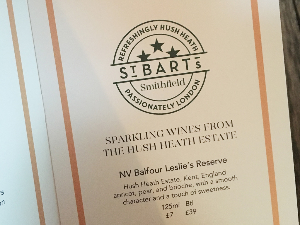 St Bart's Brewery Smithfield