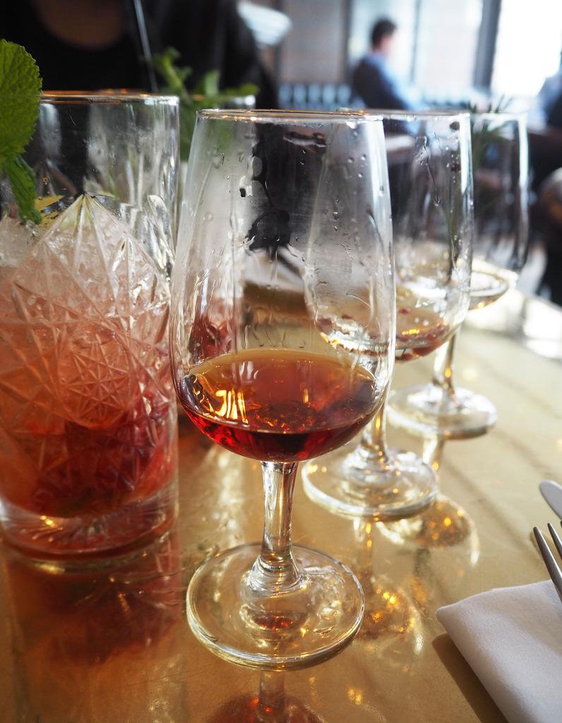 Gin and food tasting London