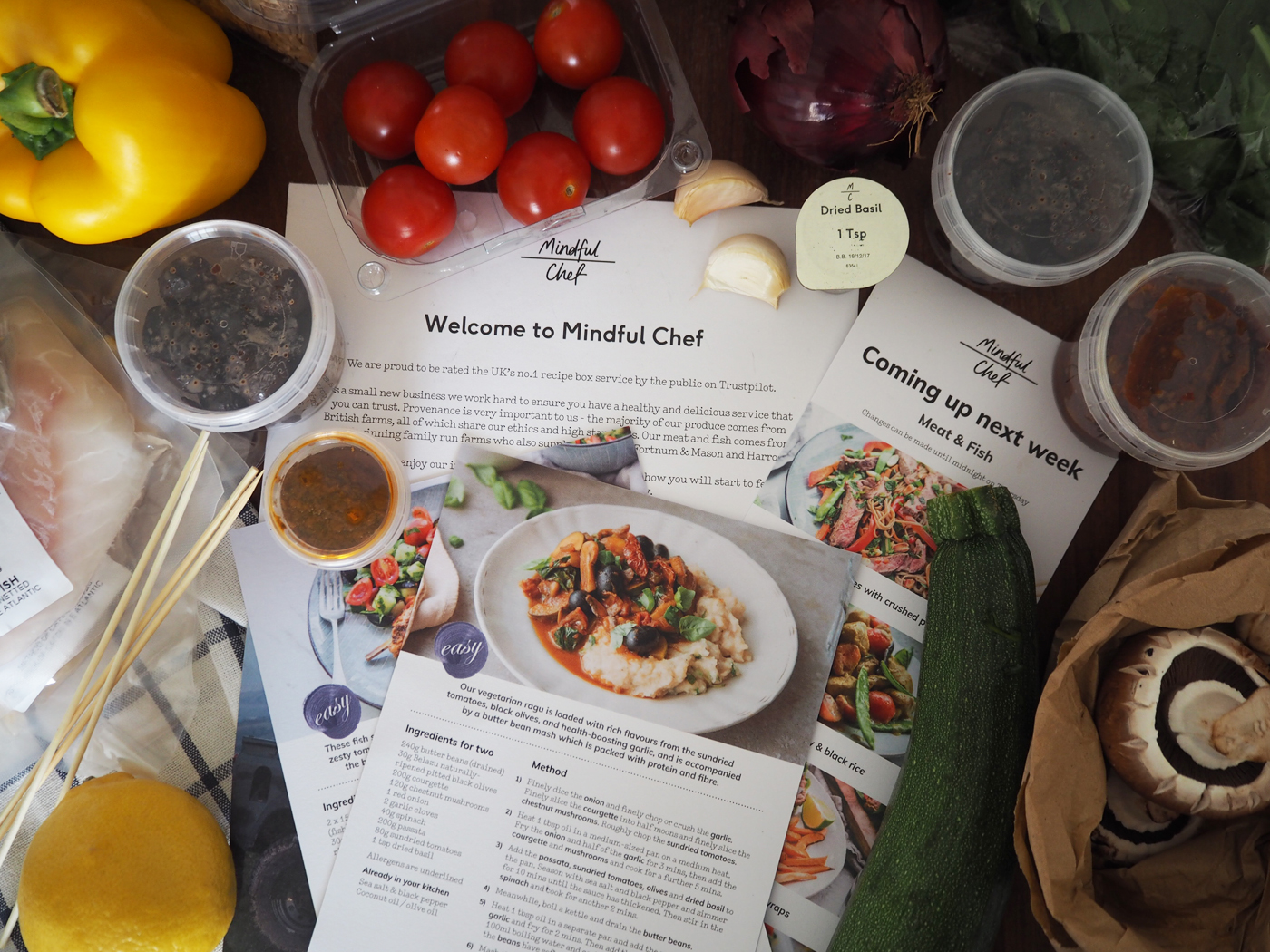 Lifestyle mindful chef healthy food box review sweet monday for the last 4 weeks we have been reviewing mindful chef a healthy food box that includes recipe cards and all the ingredients to make them forumfinder Gallery