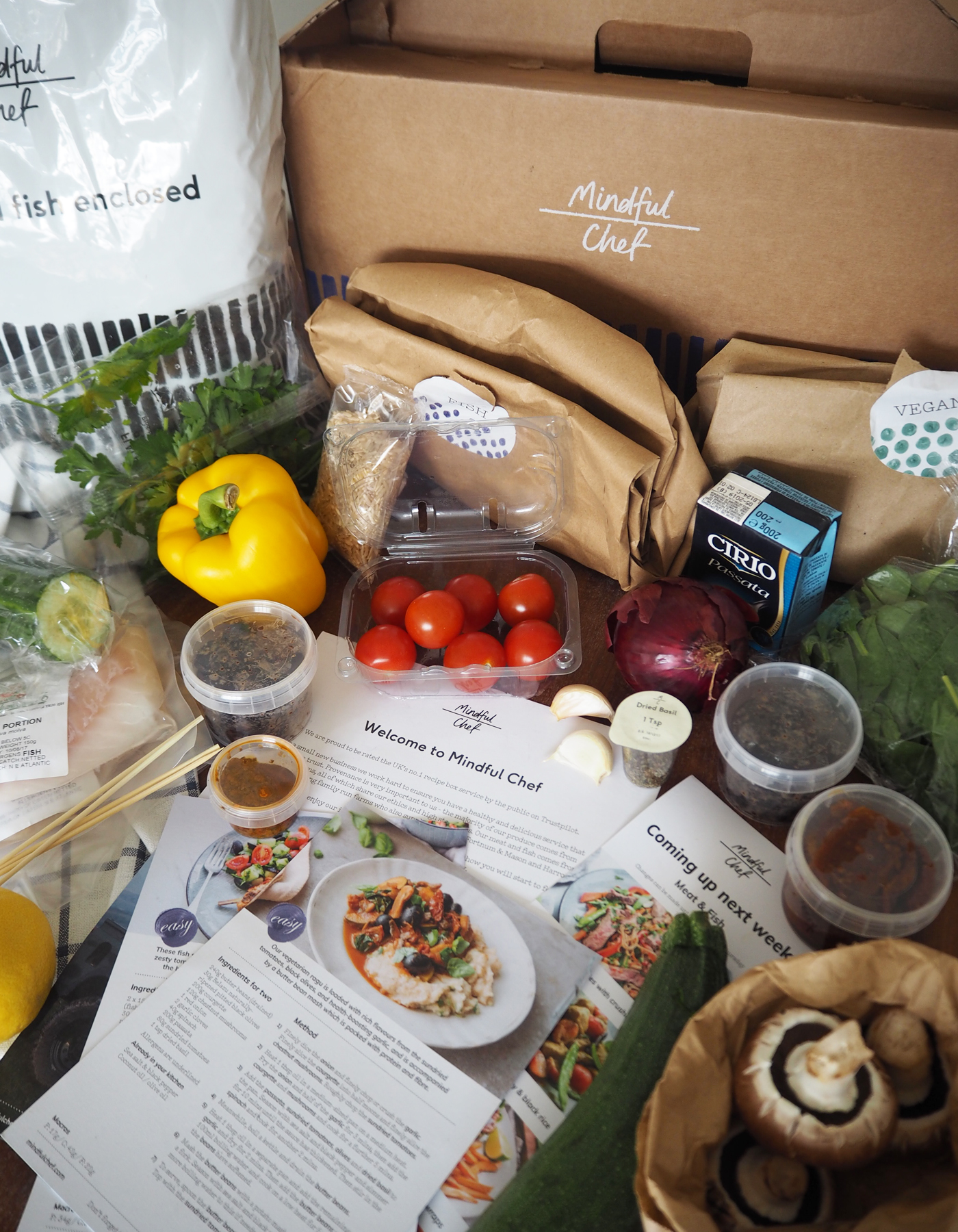 Mindful Chef box