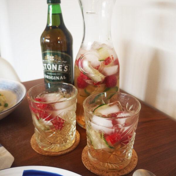 Stone's Ginger Wine Elderflower Cocktail