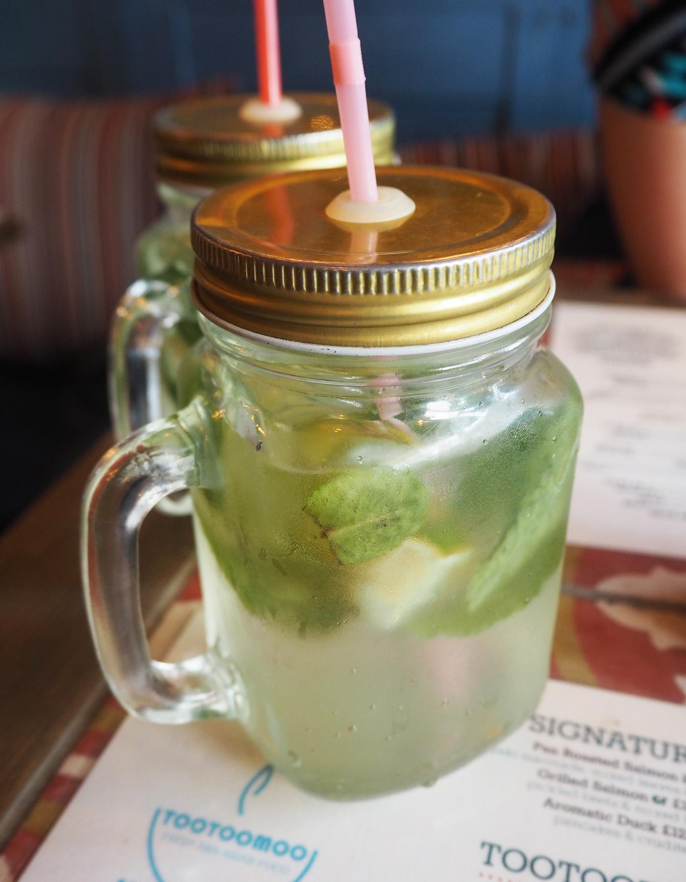 Elderflower Tootoomoo cocktail