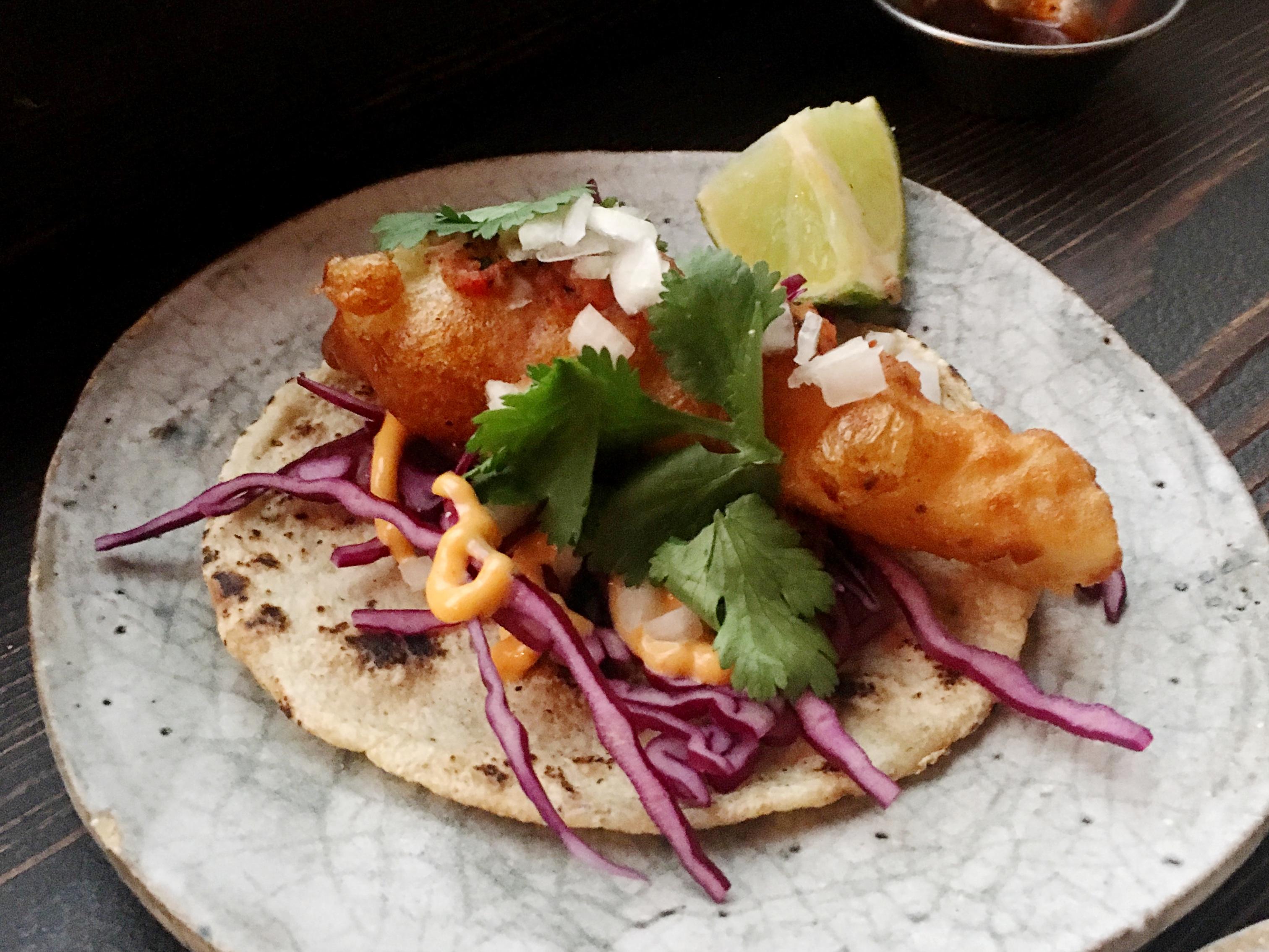 Breddos Tacos fish taco