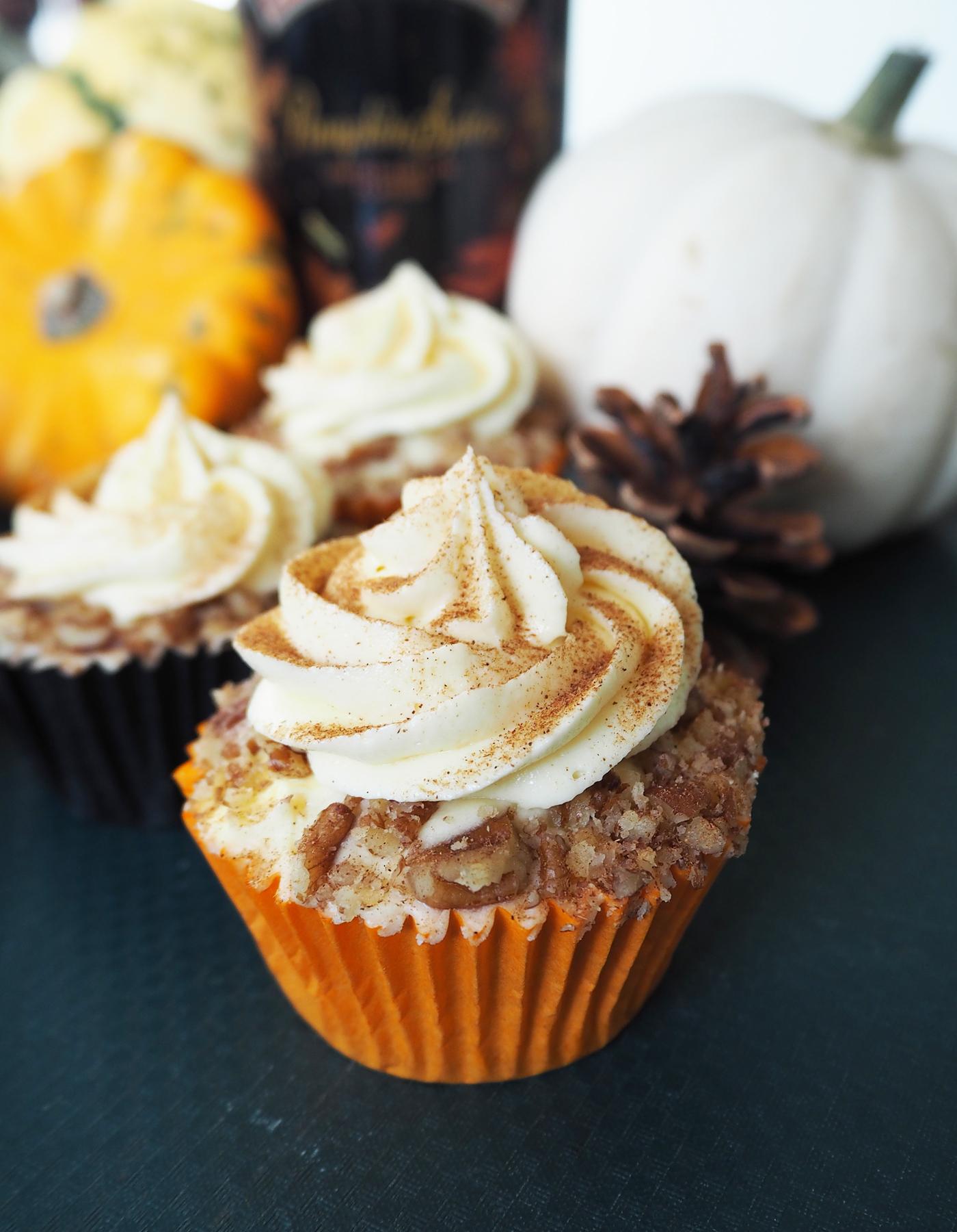 Baileys Pumpkin Spice Cupcakes