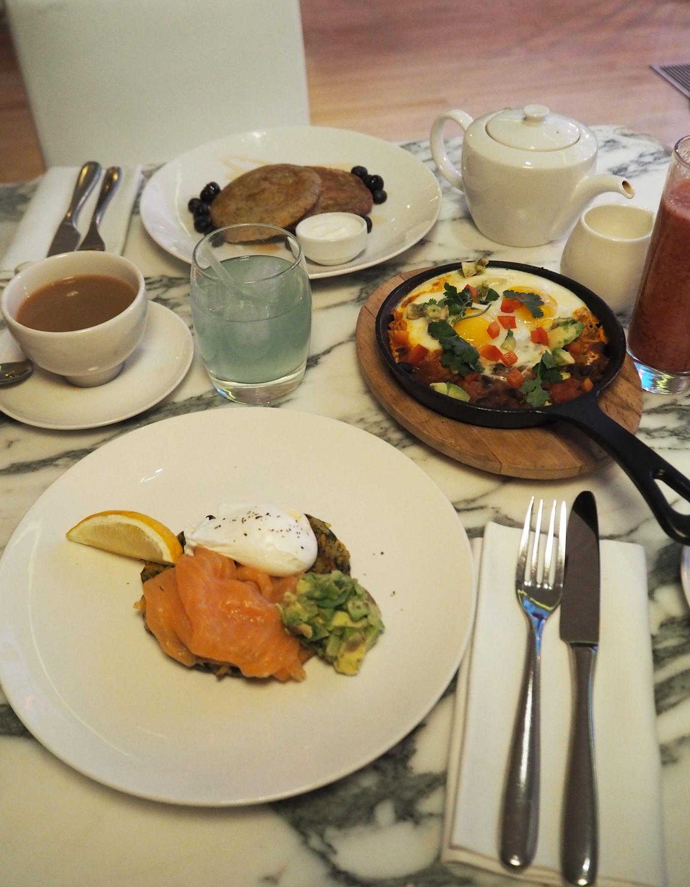 Sanderson breakfast