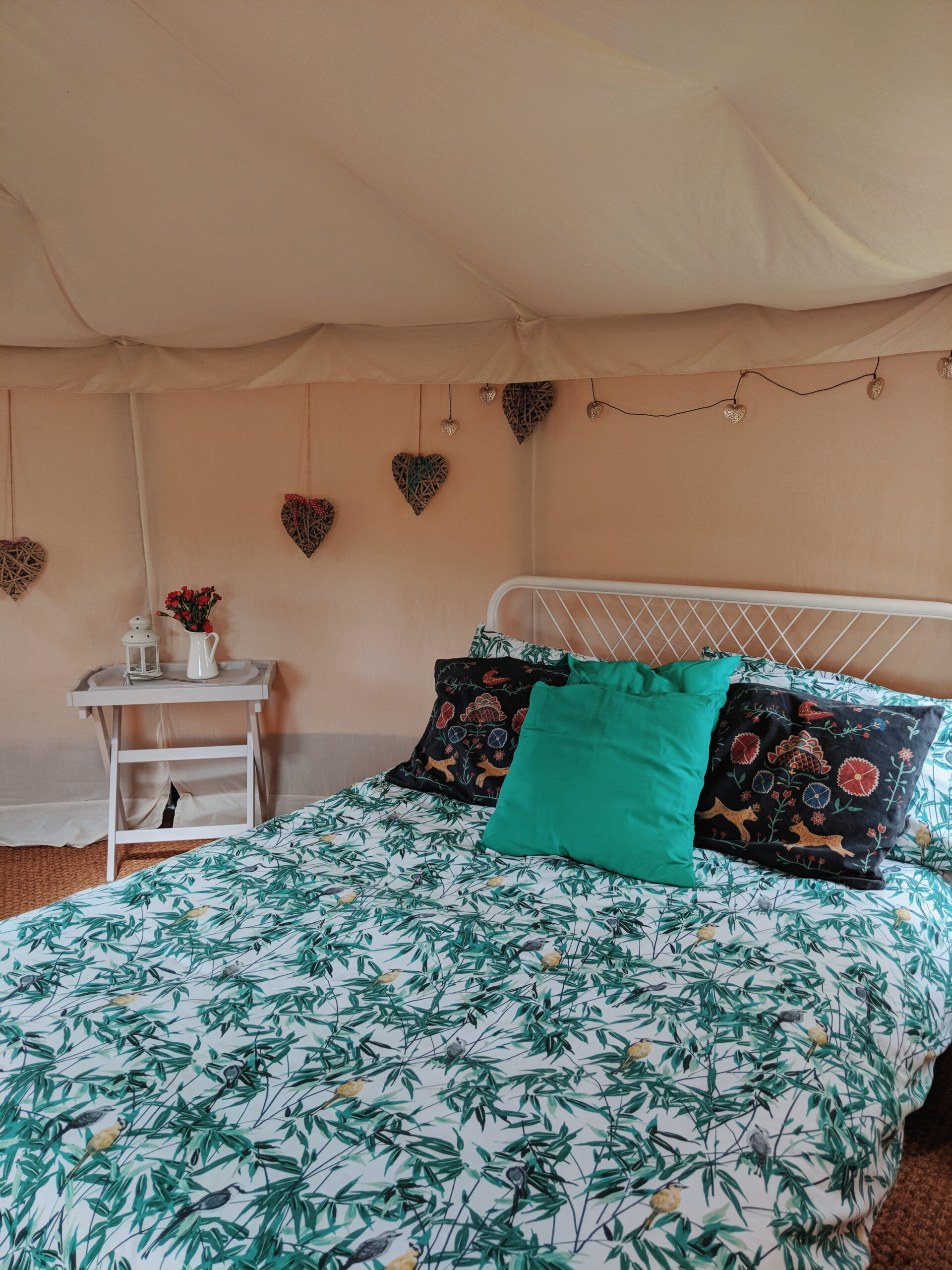 Yurt glamping The Paddock Shuttleworth