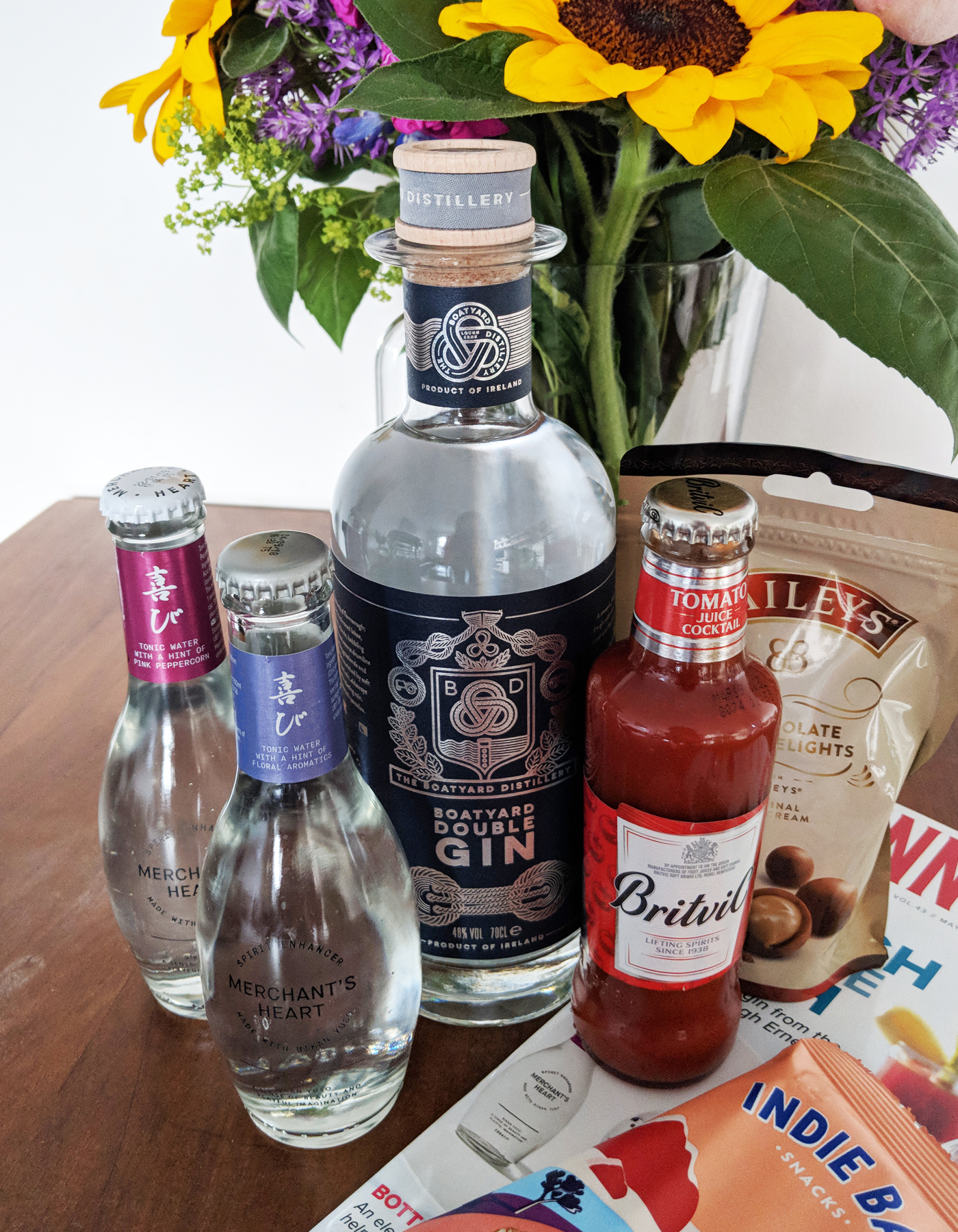 Craft Gin Club May's box