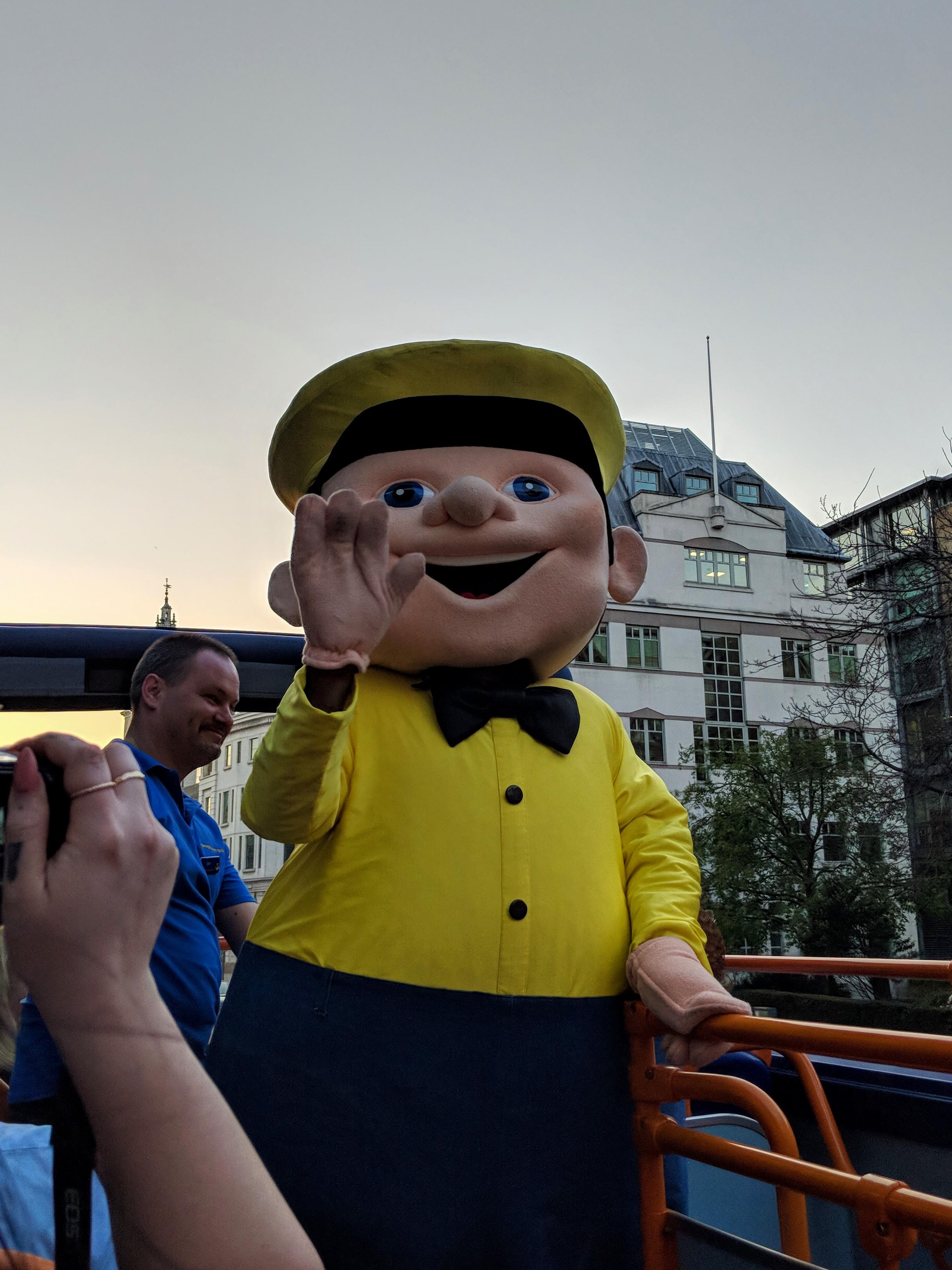 Megabus mascot