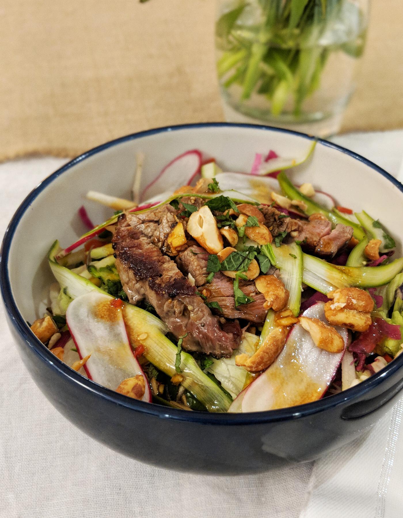 M&S Beef salad