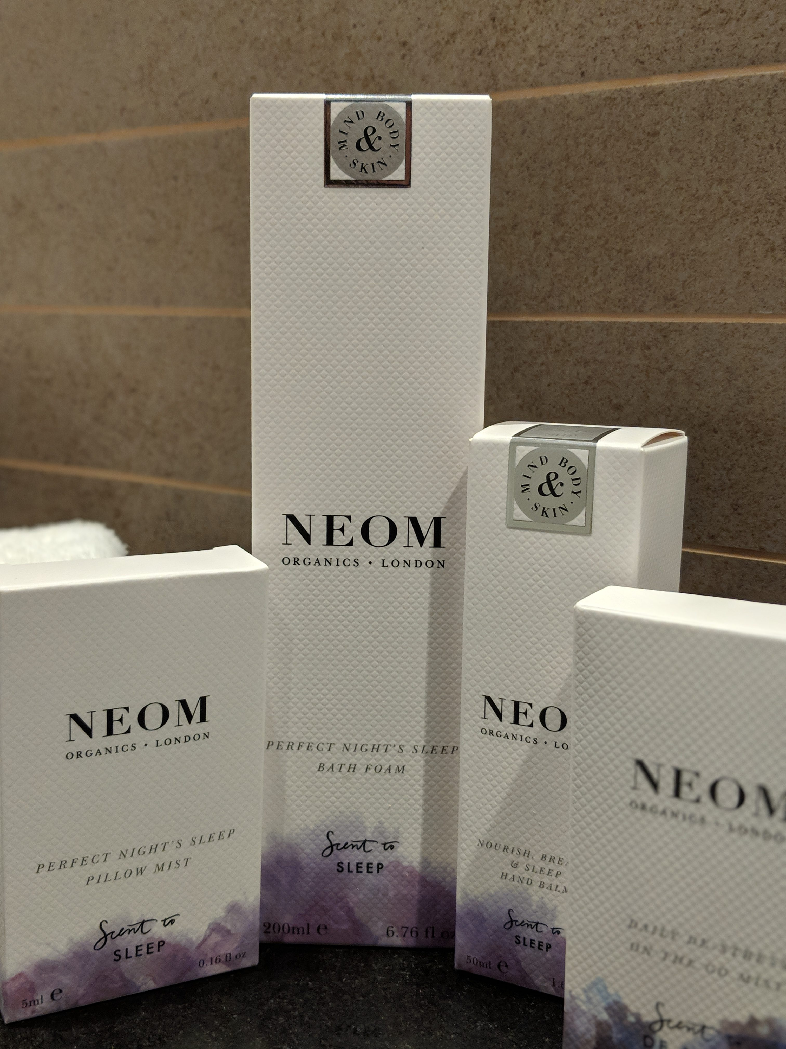 Neom Sleep Package