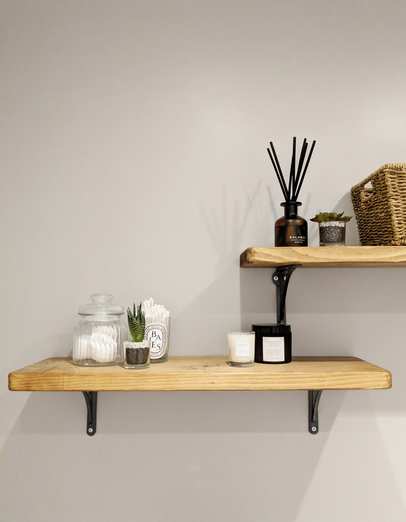 Etsy recycled wooden shelves