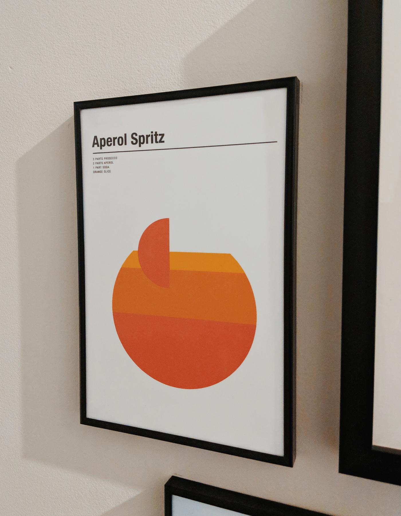 Aperol Spritz print
