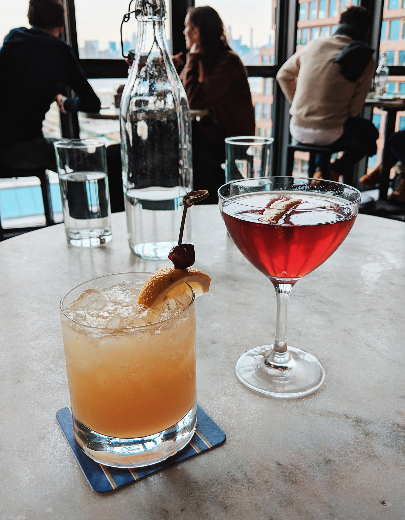 The Wythe Hotel bar