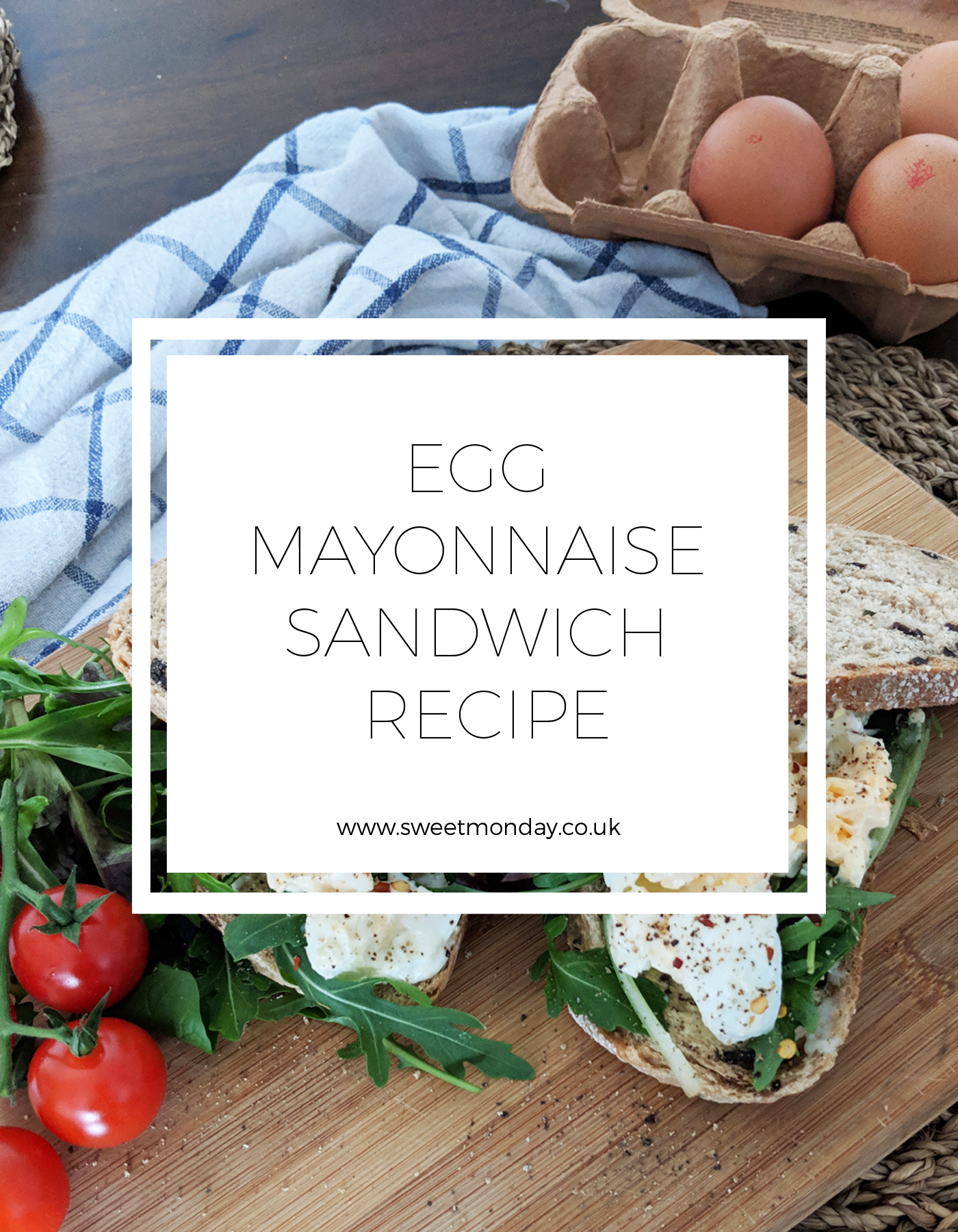 Pinterest Egg Mayo Sandwich
