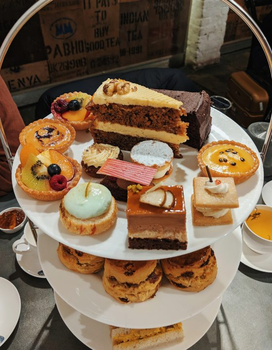 Whittard afternoon tea