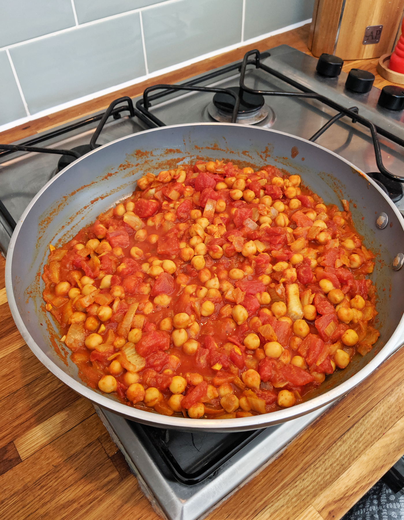 Moroccan Chickpeas