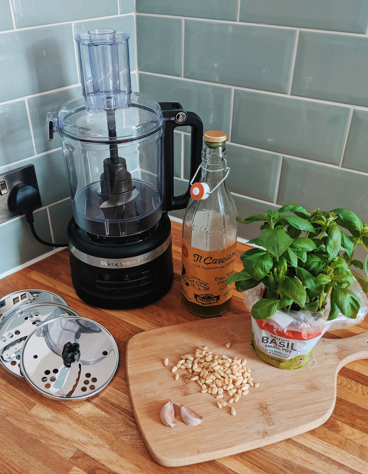 Kitchenaid Pesto Recipe