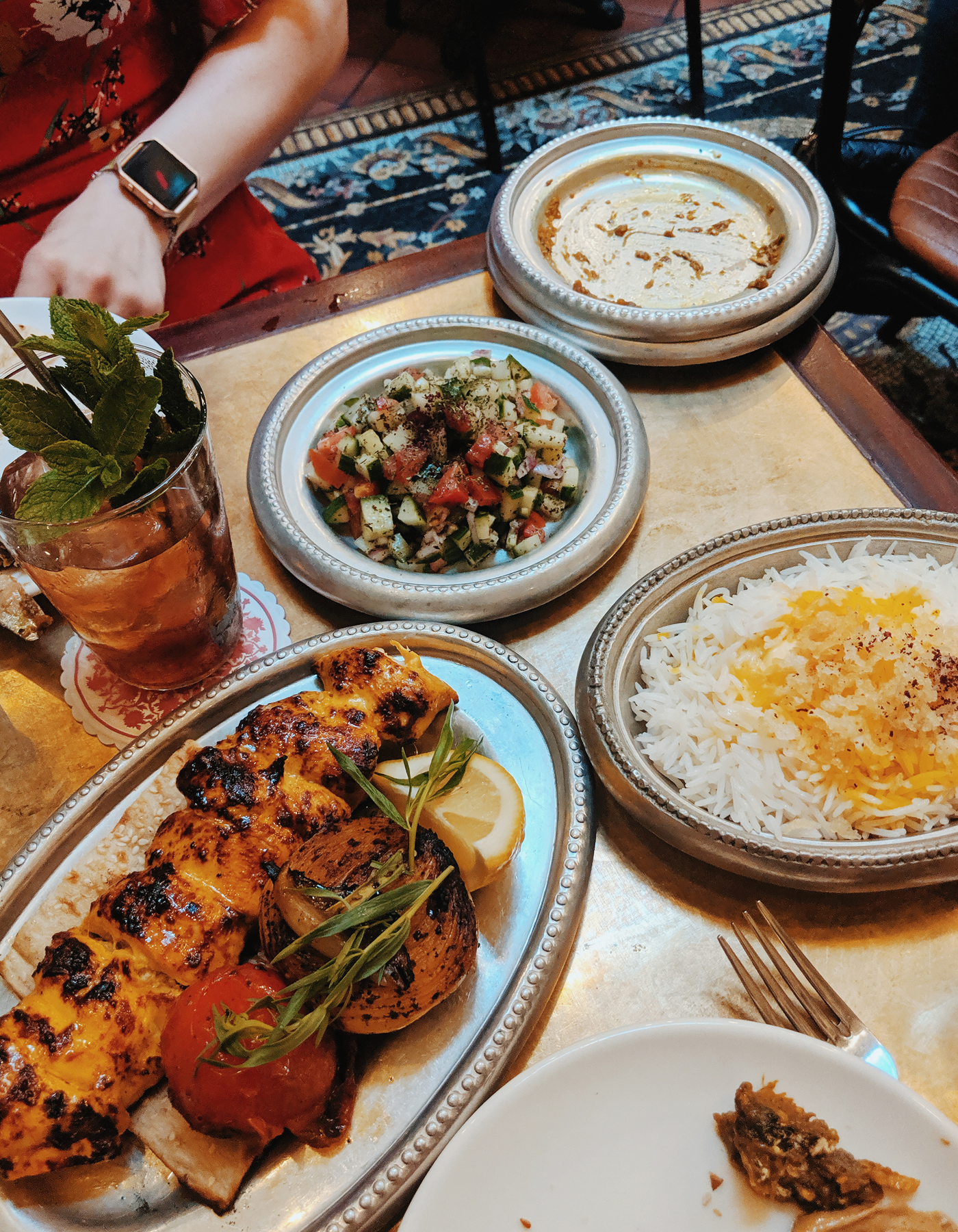 Berenjak London Persian food