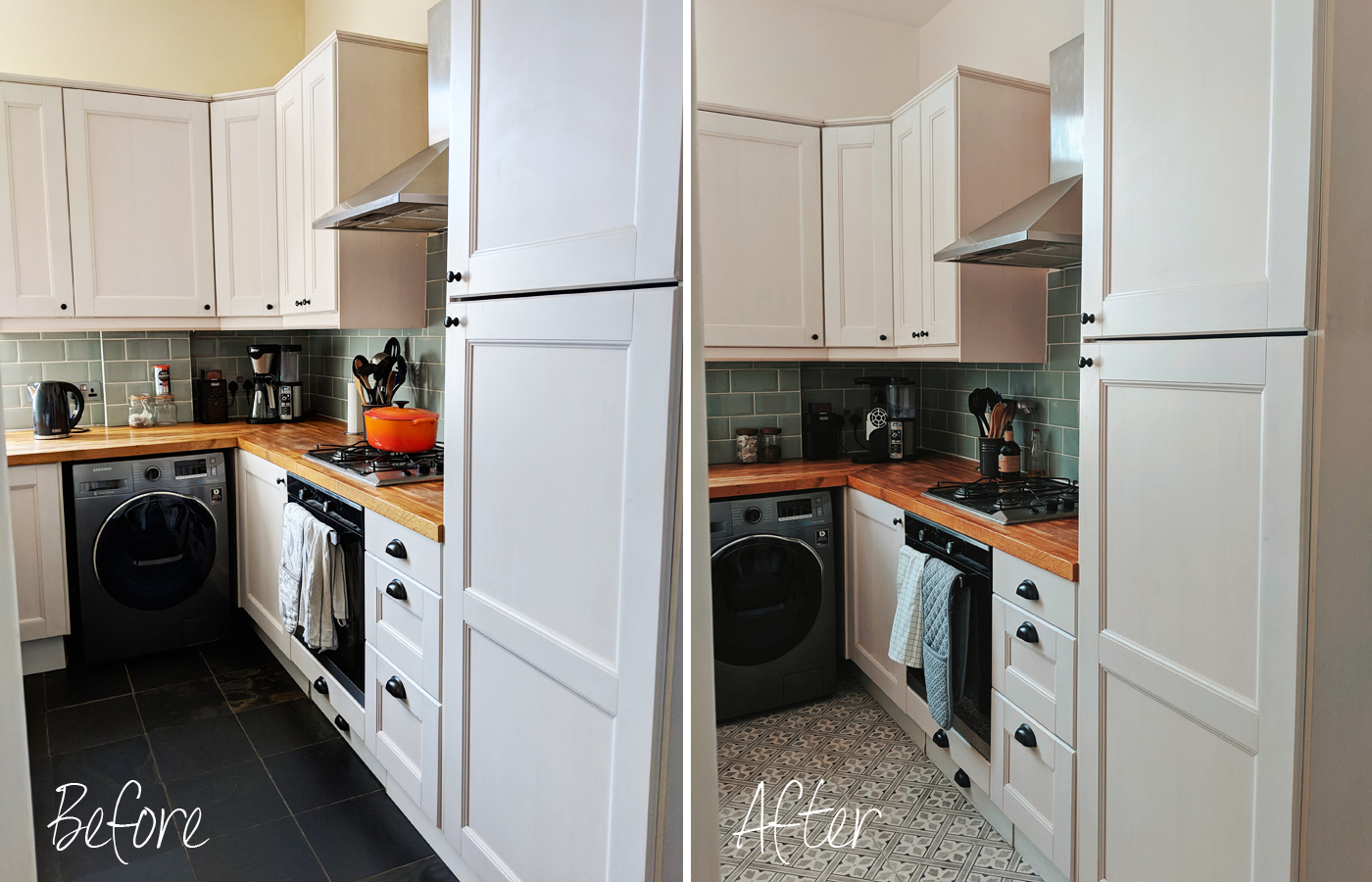 Kitchen Before and After Kitchen Makeover