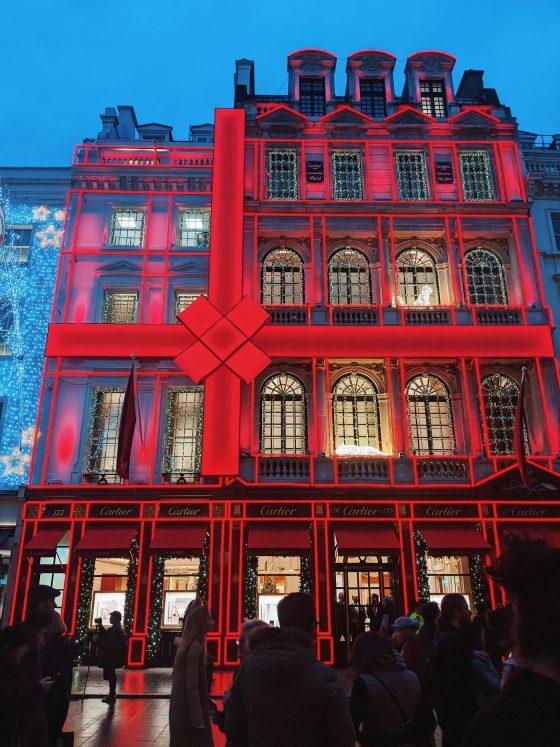 Cartier Christmas Lights London
