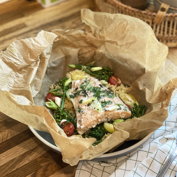 Salmon and Herb Parcels