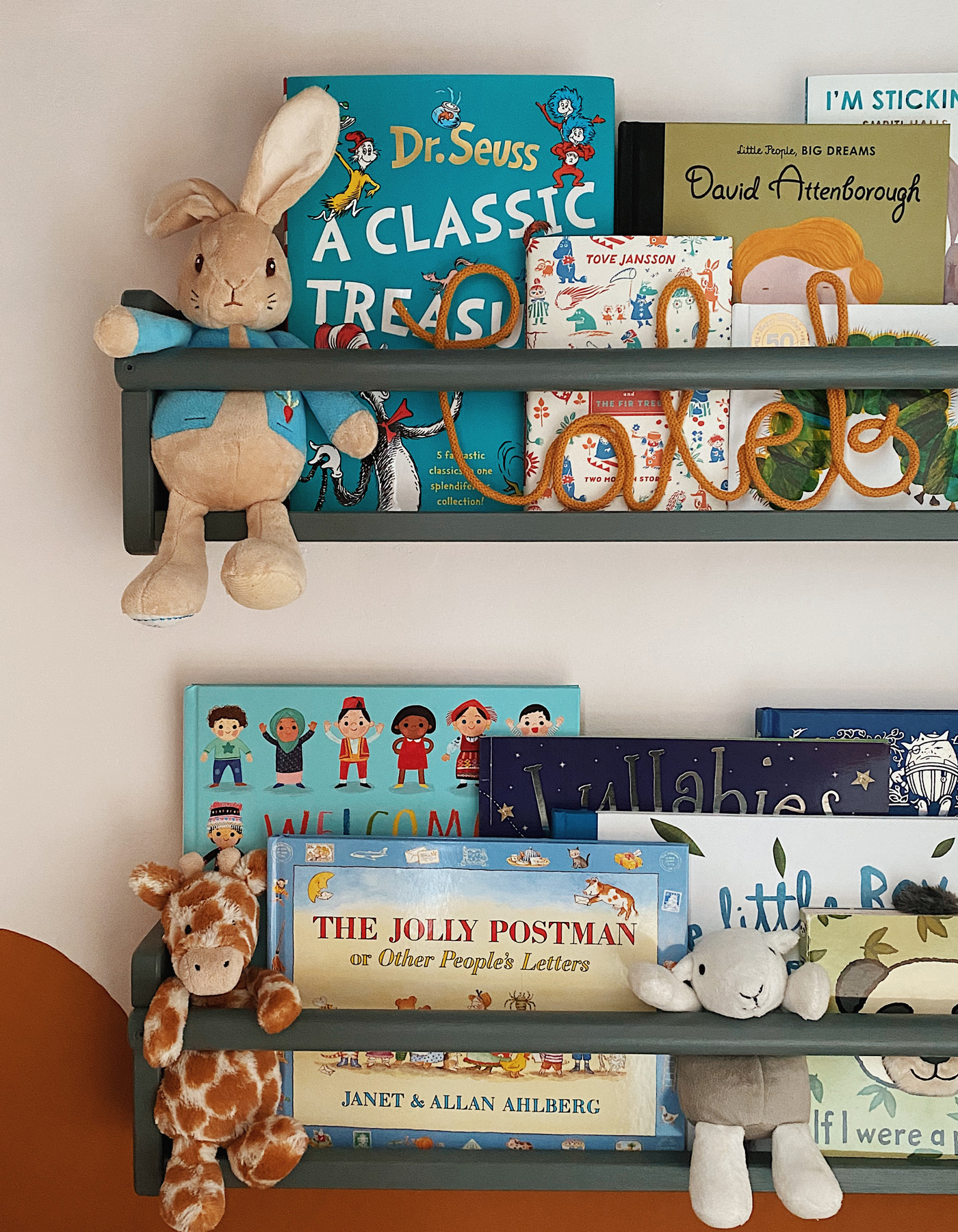 IKEA Flisat book shelves