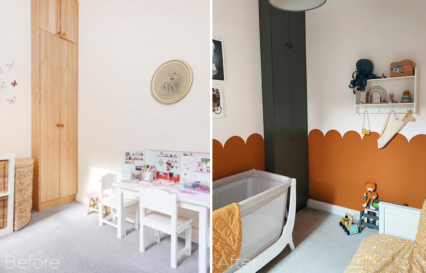 Baby boys room makover