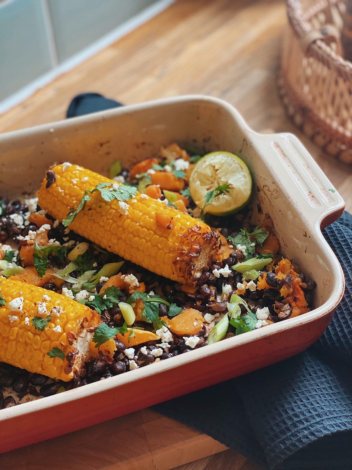 Chipotle Sweet Corn & Black Beans