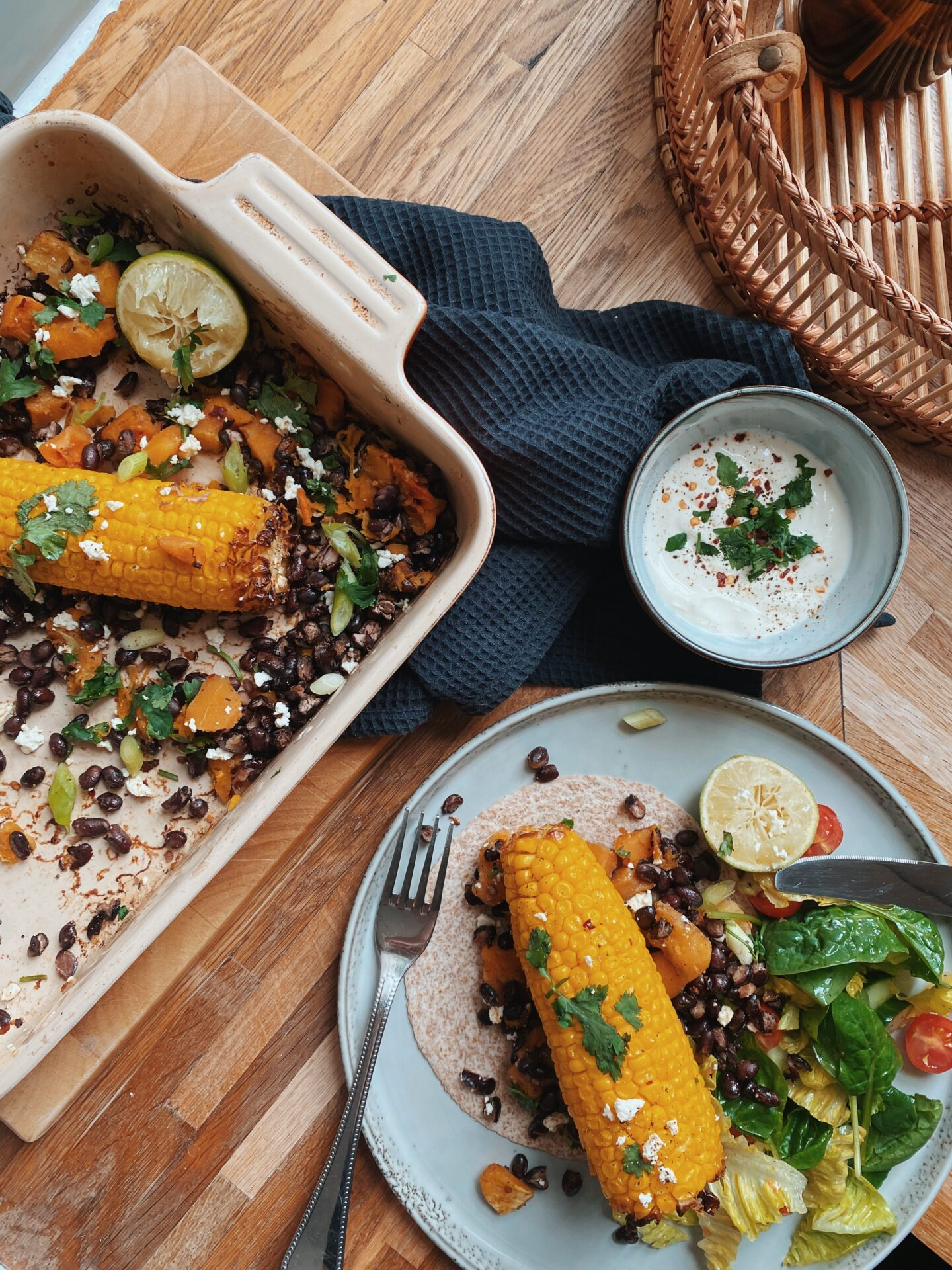 One Tin Mexican Sweetcorn & Black Beans
