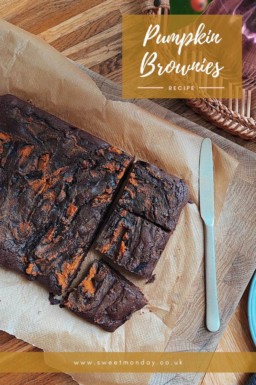 Halloween Pumpkin Brownies Recipe